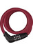 ABUS Numero 5510C/180 - Candado de cable - RD SCMU rojo